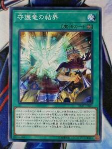 ◇B3980◇遊戯王OCG・守護竜の結界 ノーマル SAST-JP061◇