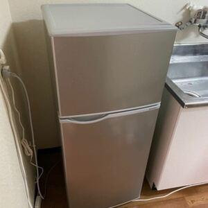 冷蔵庫 シルバー系 SJ-H13E-S [右開きタイプ /2ドア /128L] [冷凍室 34L]