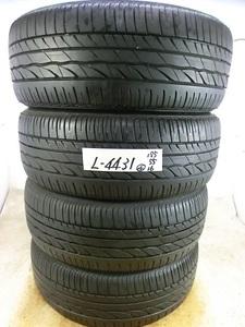 L-4431 溝あり 中古タイヤ ブリヂストン TURANZA ER300 195/55R16 87V (4本)