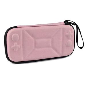 1500円~Nintendo Switch Lite ニンテンドー スイッチライト キャリングケース ゲームカード収納 保護カバー ポーチ EVA素材 耐衝撃 ピンク