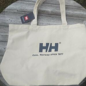 ヘリーハンセン Logo Tote L ロゴトートL ヘリーブルー HY92050 HB トレッキング トートバッグ