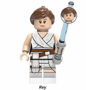 1体 rey 翌日発送 スターウォーズ マンダロリアン ブロック ミニフィグ レゴ LEGO 互換 ブロック ミニフィギュア レゴ 互換 b