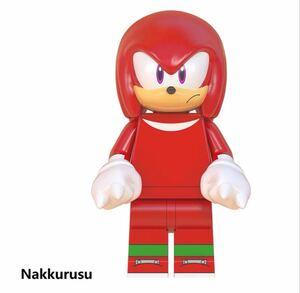 1体 nakkurusu ソニック ミニフィグ レゴ LEGO 互換 ブロック ミニフィギュア レゴ 互換 q