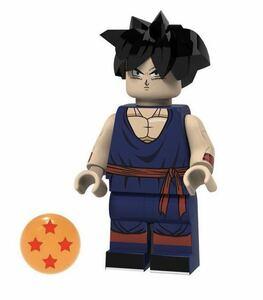 翌日発送 ドラゴンボール そん ごはん ブロックミニフィグ レゴ LEGO 互換 ブロック ミニフィギュア レゴ 互換 v