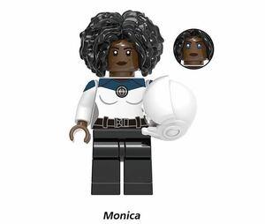 二代目キャプテン・マーベル 1体ワンダヴィジョン マーベル アベンジャーズ ミニフィグ LEGO 互換 ブロック ミニフィギュア レゴ 互換 s