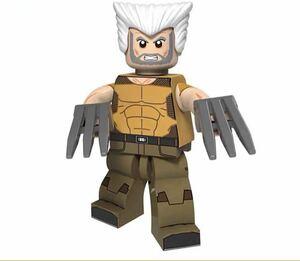 1体 翌日発送 ローガン x-men ブロック ミニフィグ レゴ LEGO 互換 ブロック ミニフィギュア レゴ 互換 u