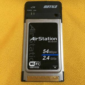 無線LANカード BUFFALO WLI-CB-G54