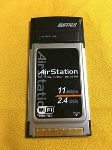 BUFFALO 無線LANカード PCカード WLI-CB-B11