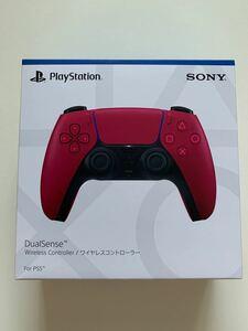 DualSense ワイヤレスコントローラー コズミックレッド