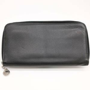 【お値下げ致しました】BVLGARI ブルガリ ブルガリブルガリ クラシコ 長財布 ラウンドファスナー ラウンドジップ黒 ブラック レザー 20886