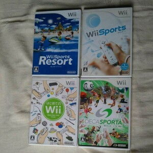 Wiiソフト 4点セット まとめ売り