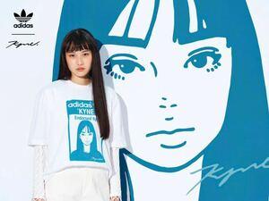 KYNE × ADIDAS STAN SMITH Graphic Tee T-shirt キネ アディダス Tシャツ
