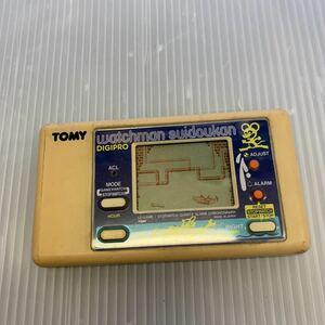 b241 トミー TOMY ウォッチマン 水道管 ゲームウォッチ GAME&WATCH ジャンク品