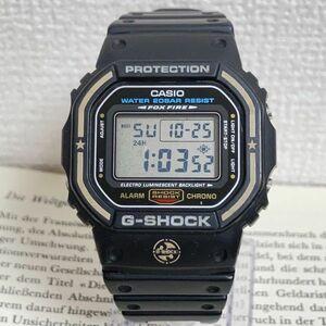 ★レア CASIO G-SHOCK デジタル 多機能 メンズ 腕時計 ★ カシオ G-ショック DW-5600E アラーム クロノ タイマー ブラック 稼動品 F4627