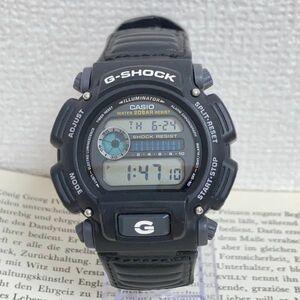 美品 ★CASIO G-SHOCK デジタル 多機能 メンズ 腕時計 ★ カシオ G-ショック DW-9052V アラーム クロノ タイマー ブラック 稼動品 F4691