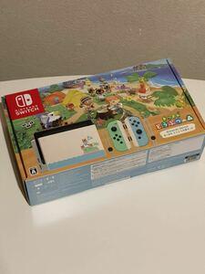 【ほぼ未使用品】Nintendo Switch あつまれどうぶつの森セット 本体 初期化済 ニンテンドースイッチ