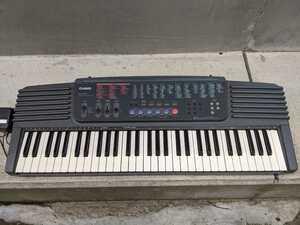 キーボード 電子 ピアノ 電源確認済み CASIO カシオ CTK-500 音出しOK 電子楽器 作曲 シンセサイザー 140サイズ