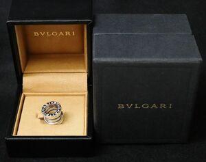 美品 BVLGARI ブルガリ B-zero1 ビーゼロワン K18WG ホワイトゴールド ネックレスチャーム ☆2816-1