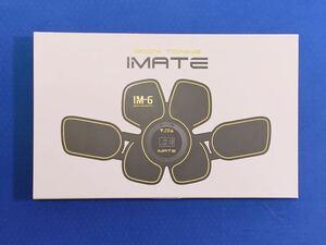 IMATE IM-6 腹筋エクサパッド フィットネスマシン EMS 腹筋ベルト