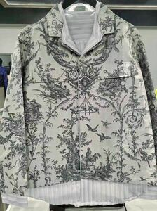 Dior homme men 19ssコレクションレイヤードシャツジャケット ブルゾン 期間限定値下げ