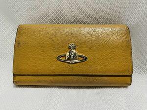 ヴィヴィアンウエストウッド 長財布 黄色