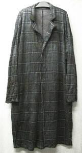 ヨウジヤマモトプールオム:ムラ染め ロング ジャケット / コート ( Yohji Yamamoto pour Homme Long Jacket / Coat