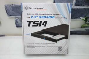 SilverStone 9.5mmスリム光学ドライブ→ 2.5インチ HDD/SSD変換 SST-TS14 未使用品 [2]