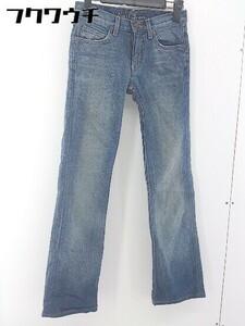 ◇ Earl Jean アールジーン ジーンズ デニム パンツ サイズ23 インディゴ レディース 1106030006223