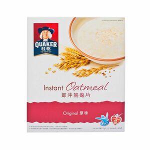 香港直送品 / 【桂格クエーカー】穀物のプロ インスタントオートミール #オリジナル味 #原味◆42g * 5パック入