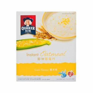 香港直送品 / 【桂格クエーカー】穀物のプロ インスタントオートミール #コーン味 #粟米味◆35g * 5パック入