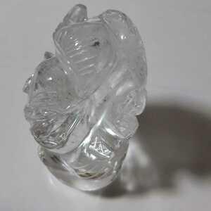 54 мм высокого качества Himalayan Crystal Ganesha Rainbow 3