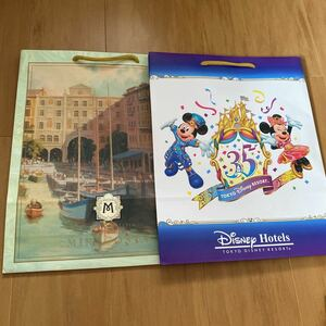 ディズニーランド 35周年ディズニーホテルズ ミラコスタ 紙袋