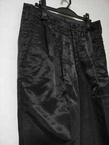 Y's ワイズフォーメン Yohji Yamamoto ヨウジヤマモト Y's for men ワイドパンツ ブラック メンズ