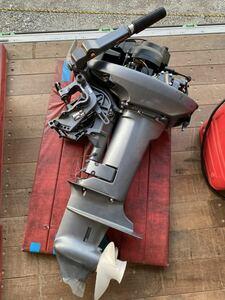 Взлет  только!!     б\у     Yamaha V-MAX   Jr   15HP ( 15 л.с.  )  б\у     топливный бак  подключение  шланг  есть  может