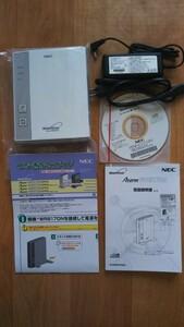 NEC Aterm WR8170N 無線ルーター