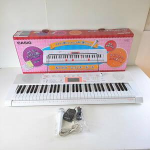 CASIO(カシオ) 61鍵盤 電子キーボード LK-123 [光ナビゲーション] 綺麗