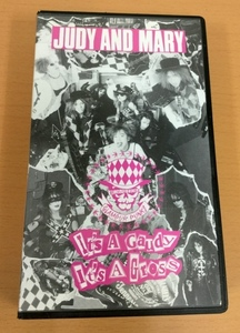 【JM1】Judy and Mary/It's A Gaudy It's A Gross/VHSビデオテープ/ジュディ・アンド・マリー/Chain Saw Records/Yuki