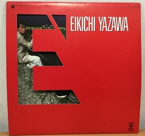 【H281】矢沢永吉/E' K-12512/ワーナー・パイオニア/外カバー付/LP