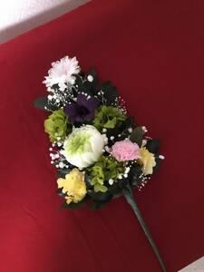 プリザーブドフラワー仏花・グリーン輪菊