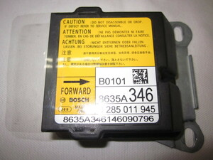 ★保証付★デイズ ルークス B21A エアバック エアーバック コンピューター 8635A 346 28556-6A01G eKスペース 管理番号(W-KM-ND)