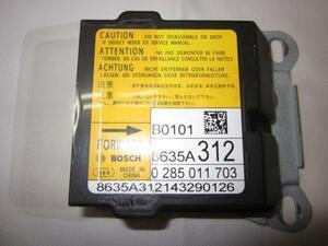 ★保証付★デイズ B21W エアバック エアーバック コンピューター EKスペース B11A 8635A312 28556-6A01D 管理番号(W-KM-ND)