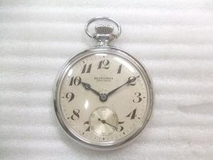 昭和レトロ19型セイコーPRECISION 懐中時計鉄道時計手巻動品 P221