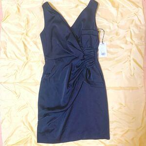 グレースコンチネンタル ダイアグラム ドレス ノースリーブワンピース