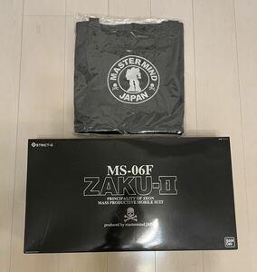 【新品 未組立】PG1/60 MS-06F ZAKU-II mastermind JAPAN ver. トートバッグ付 ガンプラ ザクⅡ マスターマインド STRICT-G バンダイ