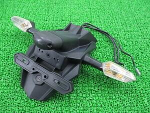 中古 カワサキ 純正 バイク 部品 NINJA250 リアフェンダー 純正 35019-0566 EX250L コケキズ 割れ欠け無し そのまま使える 修復素材に