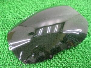 中古 社外 バイク 部品 ロックハート製ZZ-R1100 スクリーン 社外 ZXT10C スモークスピードスクリーン 割れ欠け無し C型