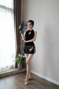 在庫処分特価 セクシー中華風旗袍 コスプレ 衣装 タイツコスチューム 1293 タイトワンピース