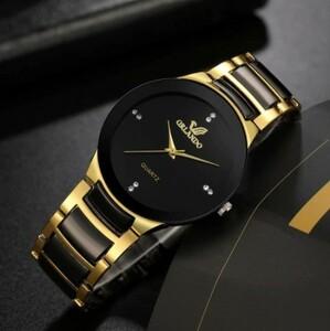 Y091 2021 高品質 男性 ステンレス鋼 クォーツ時計 レロジオ masculino 男性 ファッション カジュアル ビジネス腕時計 クロック