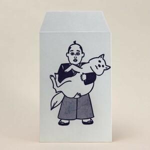 ぽち袋 コレッポチ 【綱吉くん~絆~】和紙 伊予和紙 ポチ袋 変カワイイ絵柄 和紙田大學 CP-tsunayoshi