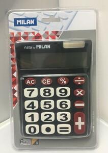 MILAN 電卓 カリキュレーター No.151708 ブラック 151708BL
